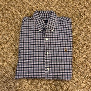 Ralph Lauren Plaid Button Down